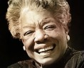 Maya Angelou, a true inspirational author