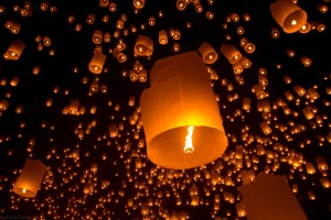 Festival of Light! In Thai it is called Loy Krathong