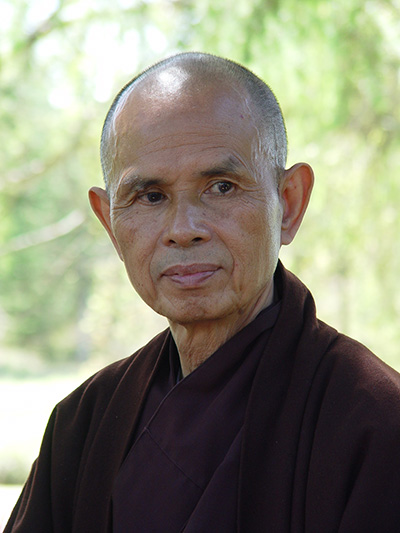 Thich Nhat Hahn writes, teaches and lives mindfulness